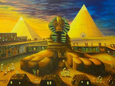 Land Of Pharaohs Art Print
