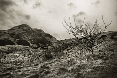 Photograph - Land Of Scotland Shif Tlens Effect by Lenny Carter