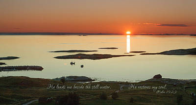 Photograph - Land Of The Midnight Sun by June Jacobsen