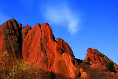 Photograph - Land Of The Red Rocks by Brian Davis