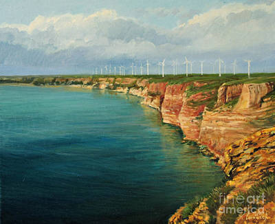 Land Of The Winds Art Print by Kiril Stanchev