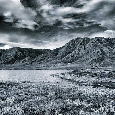 Photograph - Land Shapes 33 by Priska Wettstein
