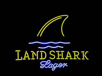 Photograph - Land Shark Lager by Steven Parker