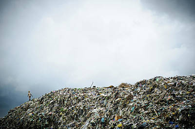 Landfill Art Print by Matthew Oldfield