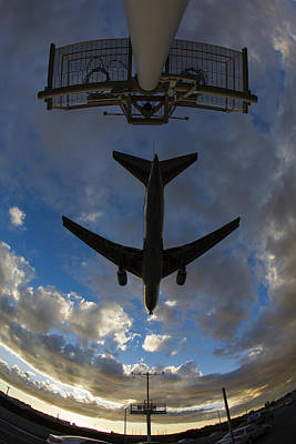 Photograph - Landing At Lax  73a3680 by David Orias