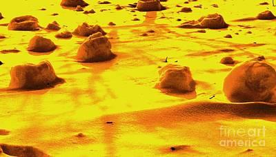 Landing On Mars 3 Art Print by Michael Grubb