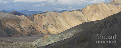 Photograph - Landmannalaugar Ridge Iceland by Rudi Prott