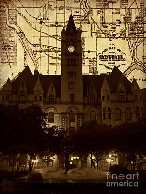Photograph - Landmark Center 2 by Laura Toth