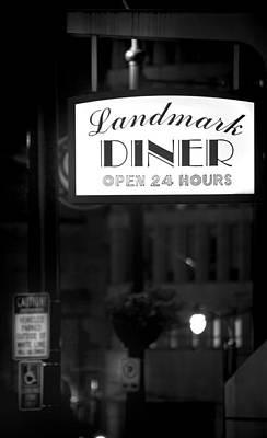 Landmark Diner Art Print by Mark Andrew Thomas