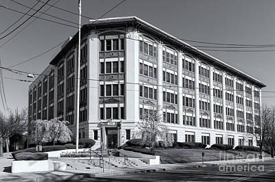 Landmark Life Savers Building II Art Print by Clarence Holmes