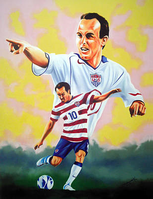 Landon Donovan By Hector Monroy Original