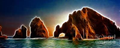 Cabo Digital Art - Lands End Baja by Dianne Phelps