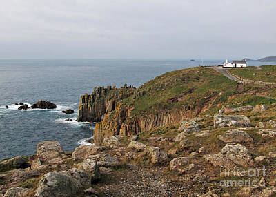Land's End The Most Western Point Of Uk Art Print