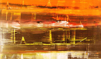 Landscape 1 Original by Nayna  Deo