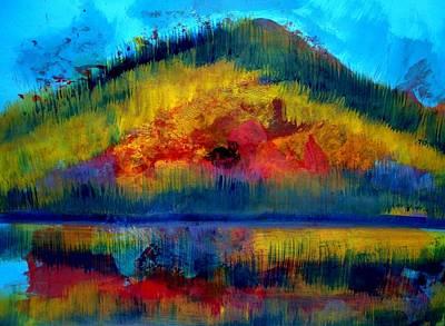 Landscape 120717-1 Original by Aquira Kusume