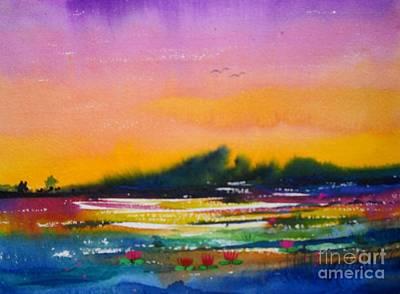 Landscape 17 Art Print
