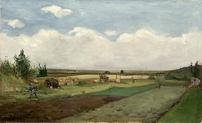 Painting - Landscape, 1873 by Paul Gauguin