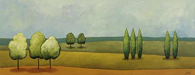Landscape 2 Art Print by Pablo Esteban