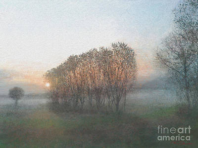 Painting - Landscape 2 by Theo Danella