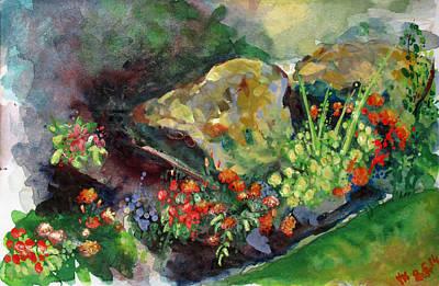 Painting - Landscape-2 by Vladimir Kezerashvili