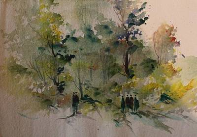 Etc. Painting - Landscape 8545 by Sir
