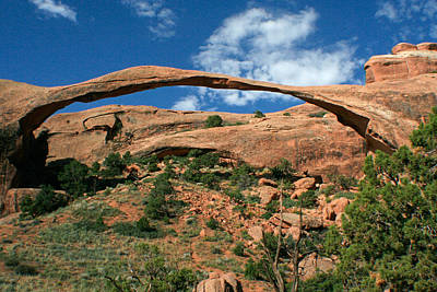 Photograph - Landscape Arch by Jon Emery