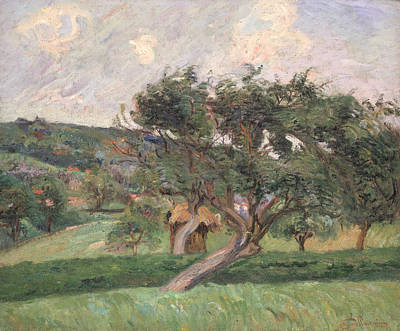 Impressionistic Landscape Painting - Landscape At Damiette by Jean Baptiste Armand Guillaumin