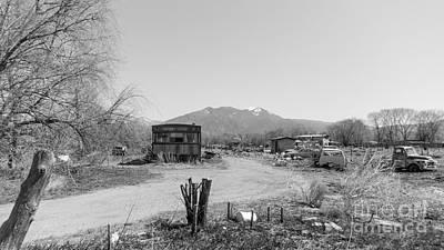 Earthship Photograph - Landscape C10p Taos Nm by Otri Park