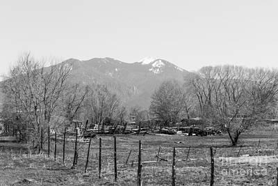 Earthship Photograph - Landscape D10r Taos Nm by Otri Park