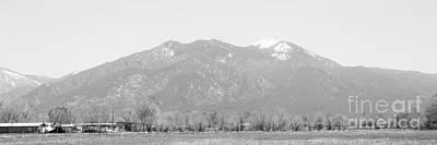 Earthship Photograph - Landscape D10x Taos Nm by Otri Park