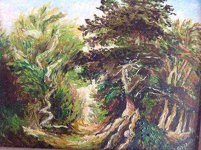 Landscape Art Print by Egidio Graziani