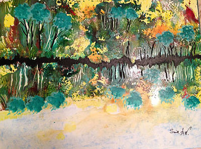 Painting - Landscape Four Hundred by Sima Amid Wewetzer