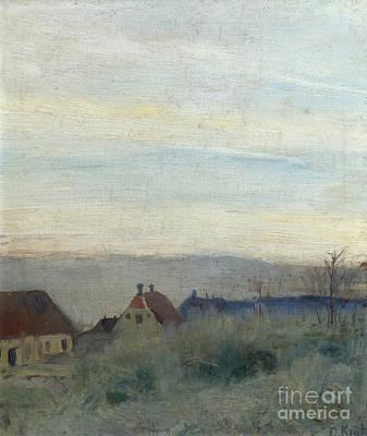 Landscape From Skagen Print by Christian Krohg