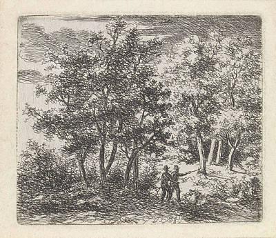Pals Drawing - Landscape, Gerrit Van Der Pals by Artokoloro
