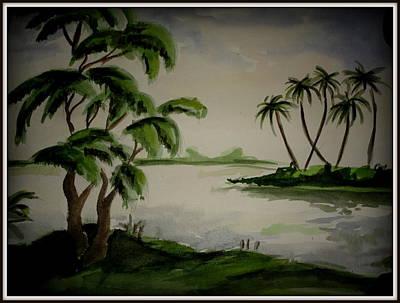 Painting - Landscape by Hihani Gautam