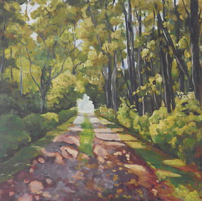 Painting - Landscape II by Ingrid Dohm