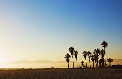 Photograph - Landscape Image Of Venice Beach by Bluehill75