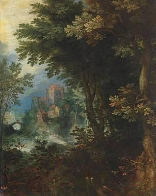 Baroque Painting - Landscape by Jan Brueghel the Elder