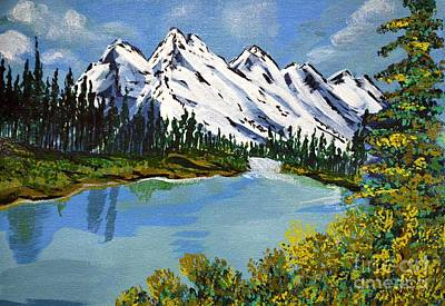 Painting - Landscape by Jyoti Vats