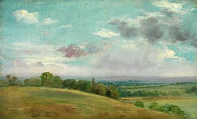 Dedham Painting - Landscape Landscape Near Dedham Summer Landscape Near Dedham by Litz Collection