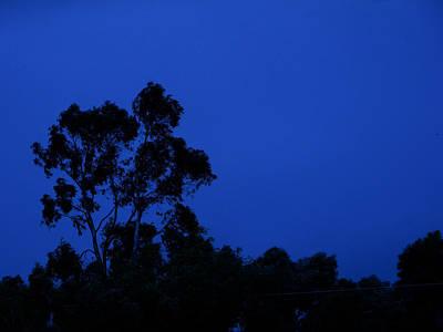Blue Landscape Art Print by Mark Blauhoefer