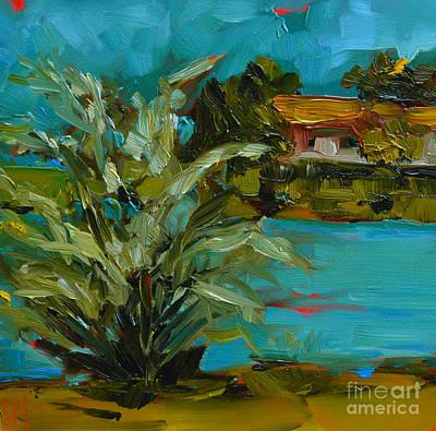 Painting - Landscape No. 2 by Patricia Awapara