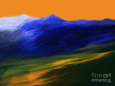 Landscape No 210 Art Print by Shesh Tantry