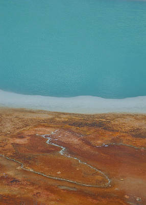 Photograph - Landscape Of A Hot Spring by Sarah Crites