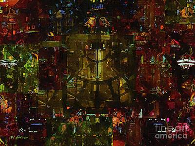 Landscape Of Hell Art Print by RC deWinter