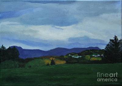 Landscape Of Sola Norway Art Print