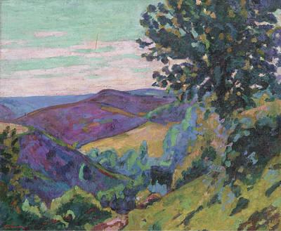 Landscape Of The Crozant Art Print