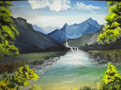 Painting - Landscape Painting by Rohini Yadawar