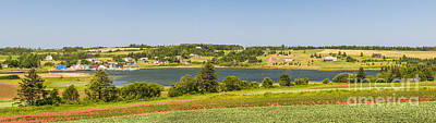 Princes Photograph - Landscape Panorama Of Prince Edward Island  by Elena Elisseeva