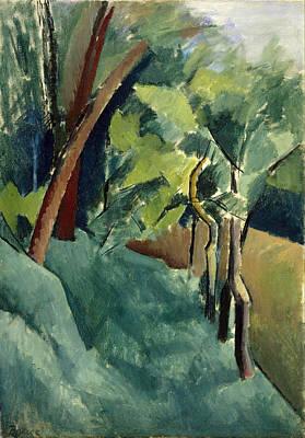 Patrick Painting - Landscape by Patrick Henry Bruce
